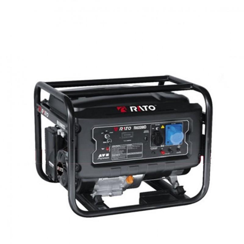 Generatore di corrente Rato R6000D 6kW a benzina 420cc AVR avviamento elettrico
