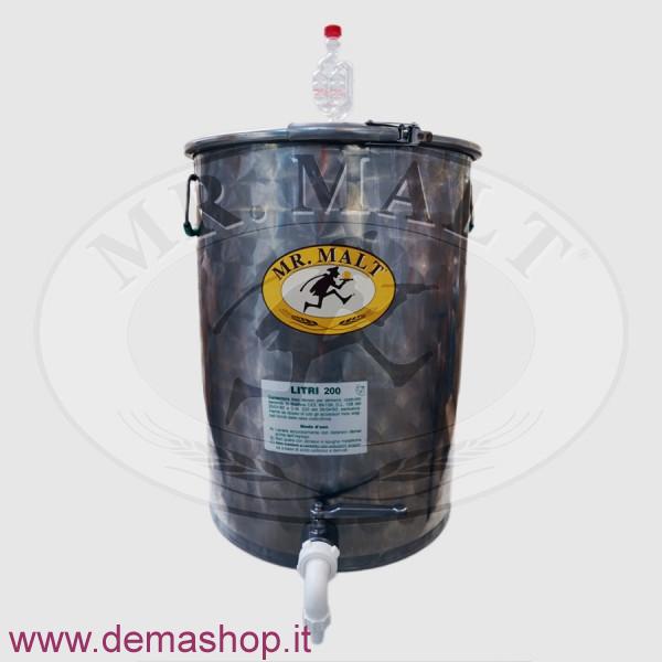 FERMENTATORE INOX 200LT